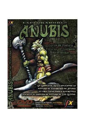 EXPLORADORES ANUBIS - CURSO PINTURA - NIVEL MEDIO - DVD