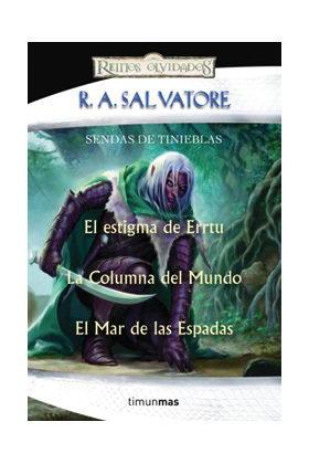 ESTUCHE SENDAS DE TINIEBLAS (R.A. SALVATORE)