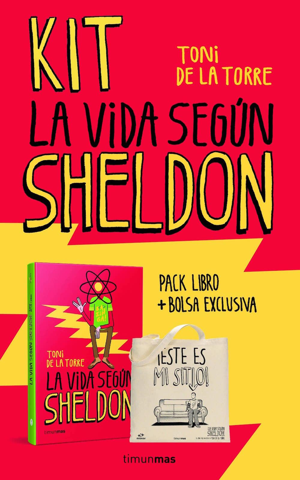 KIT LA VIDA SEGUN SHELDON (+ BOLSA DE TELA)