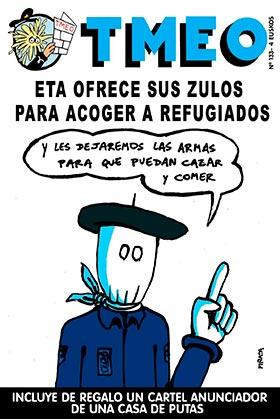 TMEO 133. ETA OFRECE SUS ZULOS PARA ACOGER A REFUGIADOS