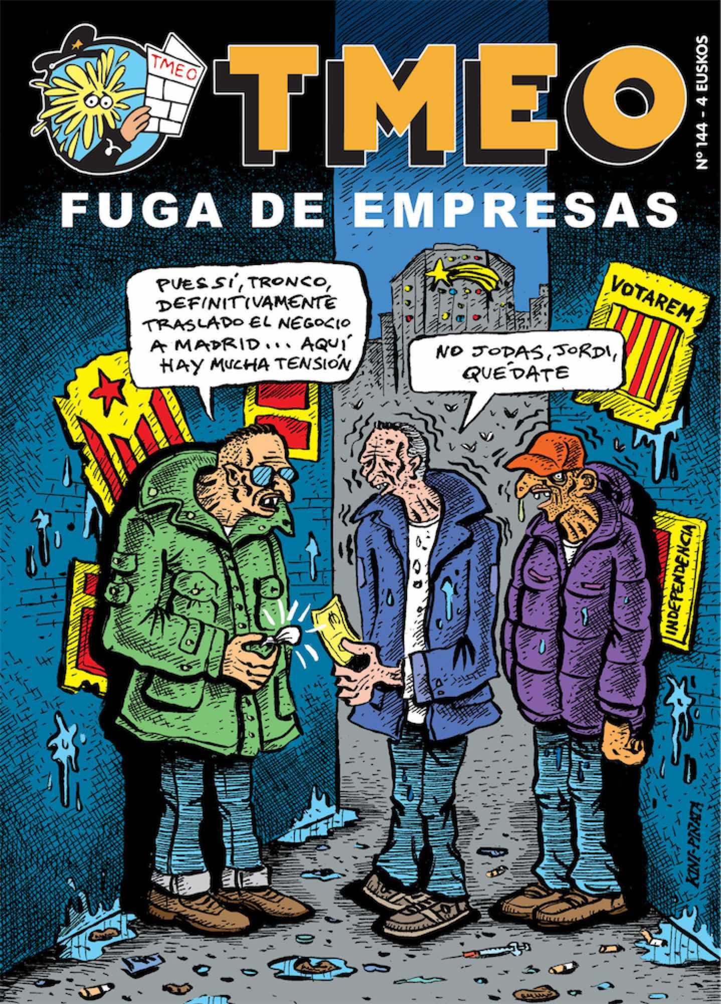 TMEO 144. FUGA DE EMPRESAS