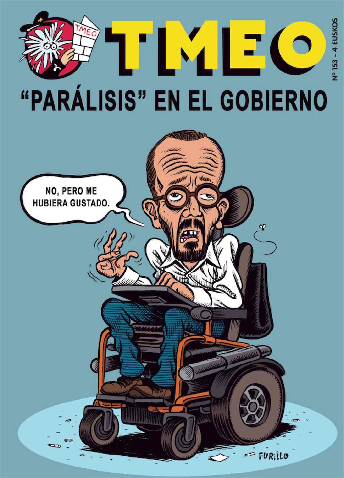 """TMEO 153. """"PARALISIS"""" EN EL GOBIERNO"""