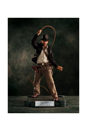 IJ INDIANA JONES CINEMAQUETTE FIGURA FIRMADA Y LIMITADA A 1000 UDS
