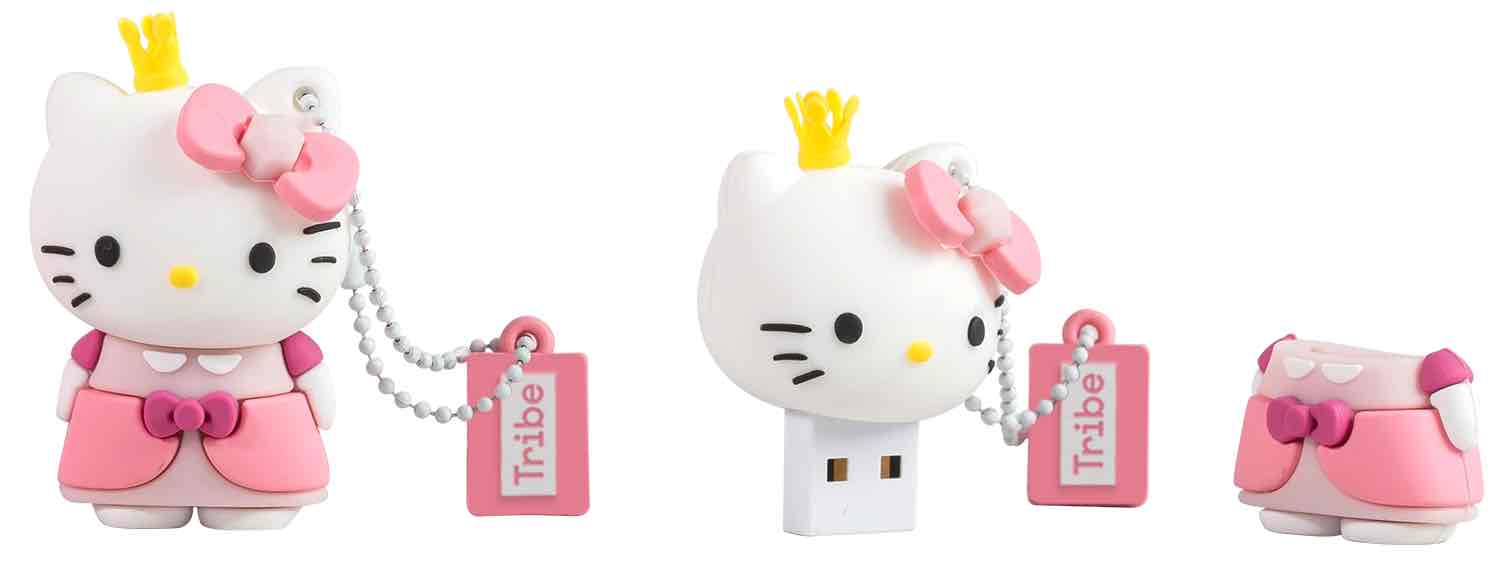 HELLO KITTY PRINCESA MEMORIA USB 8 GB HELLO KITTY