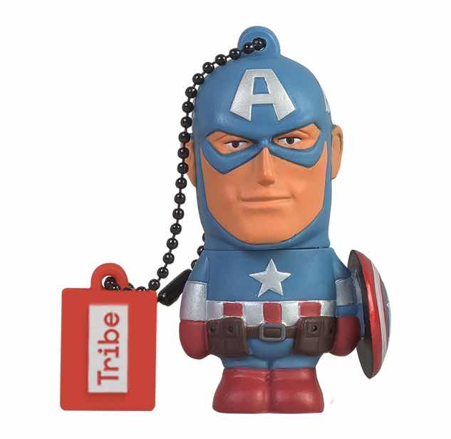 CAPITAN AMERICA MEMORIA USB 16 GB MARVEL