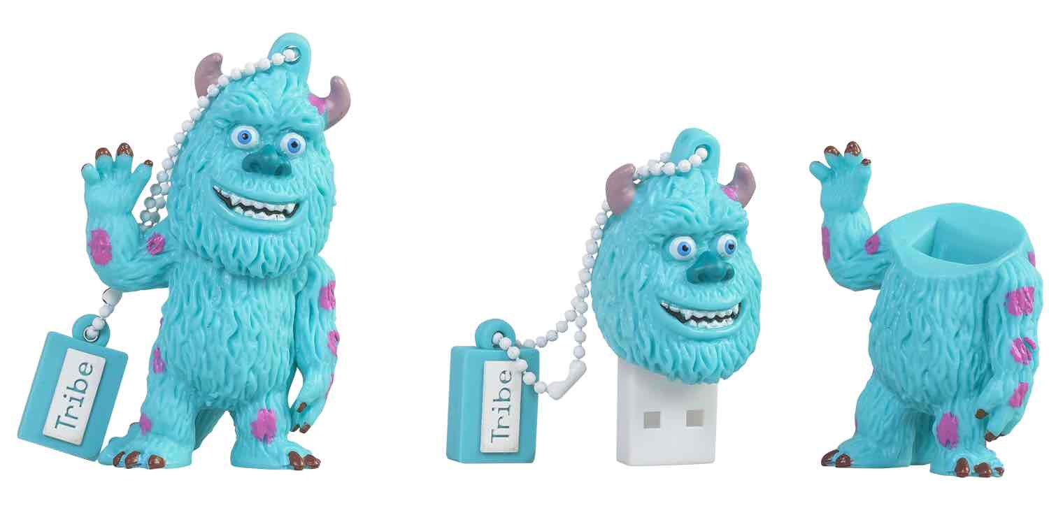 JAMES SULLIVAN MEMORIA USB 8 GB PIXAR MONSTERS, INC.