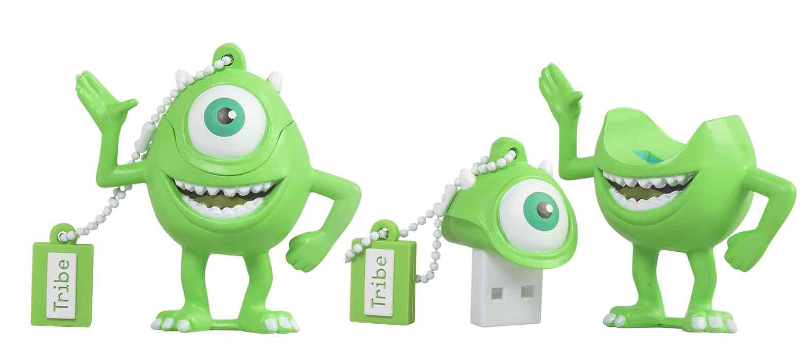 MIKE WAZOWSKI MEMORIA USB 8 GB PIXAR MONSTERS, INC.