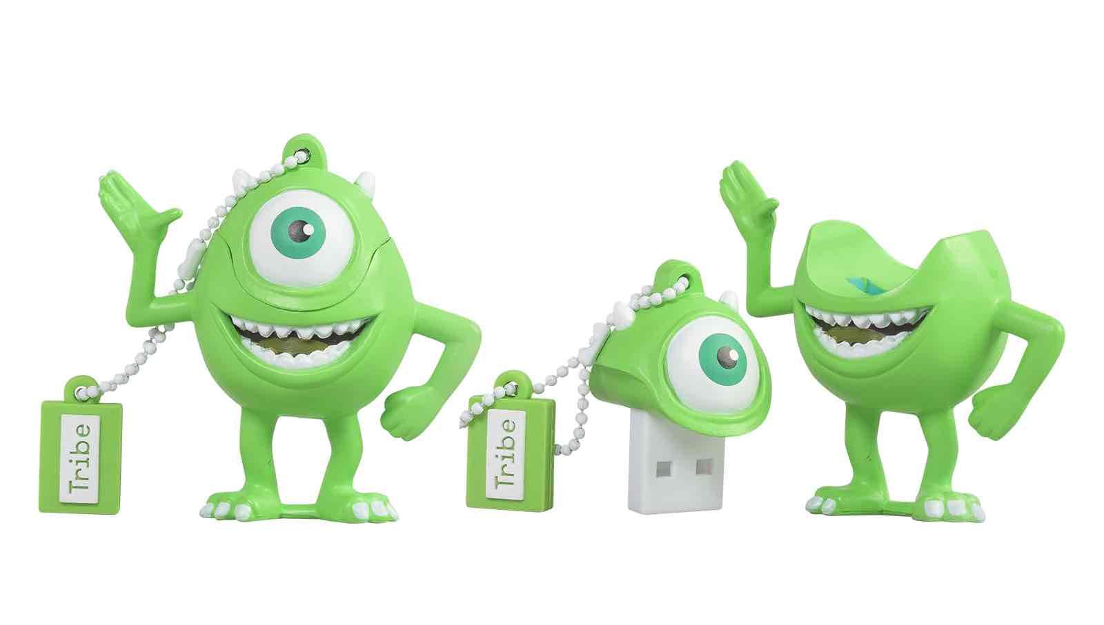 MIKE WAZOWSKI MEMORIA USB 16 GB PIXAR MONSTERS, INC.