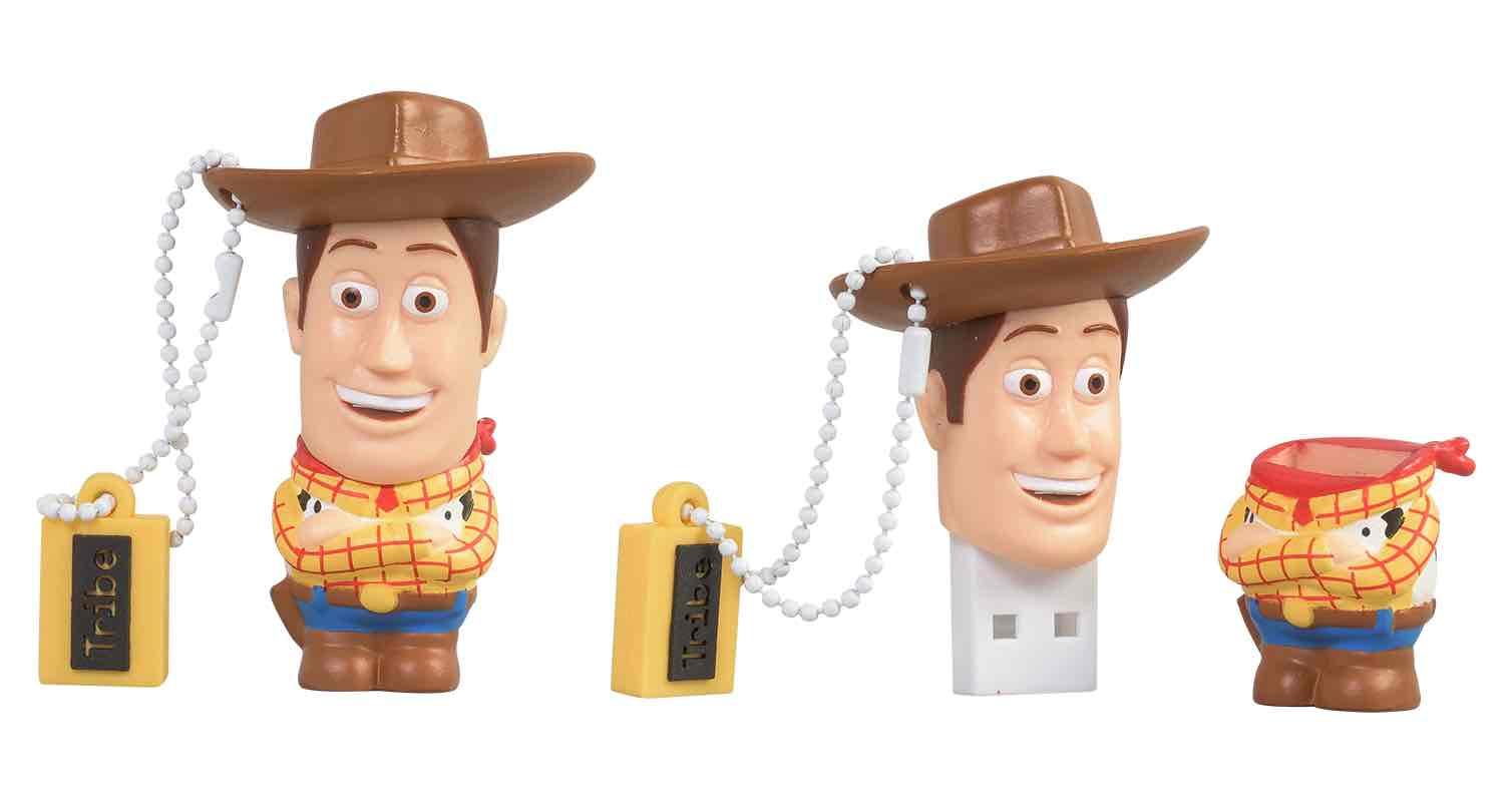 WOODY MEMORIA USB 16 GB PIXAR TOY STORY