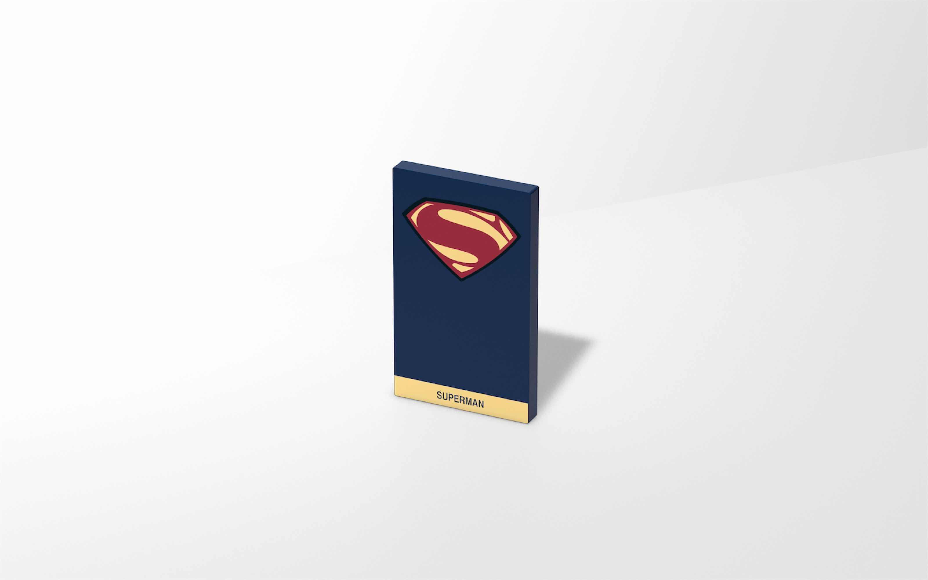 SUPERMAN BATERIA PORTATIL DC COMICS