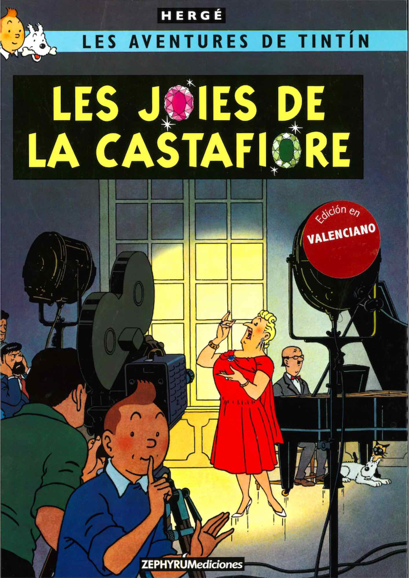 TINTIN. LES JOIES DE LA CASTAFIORE (VALENCIANO)