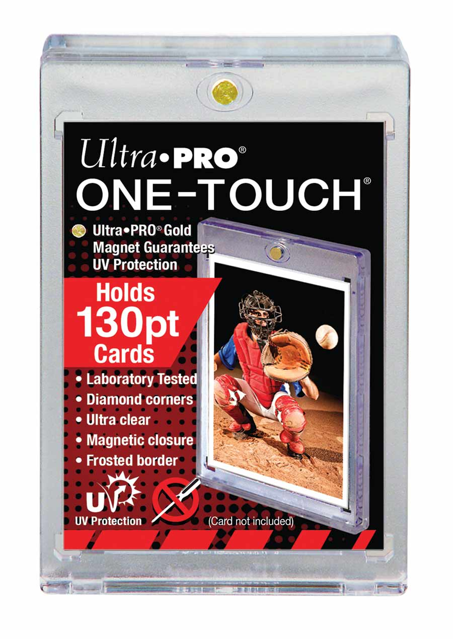 "FUNDA ACRILICA ""ONE TOUCH"" 130PT UV"