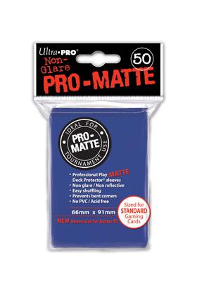 DECK PROTECTOR MATE (50) - BLUE (AZUL)