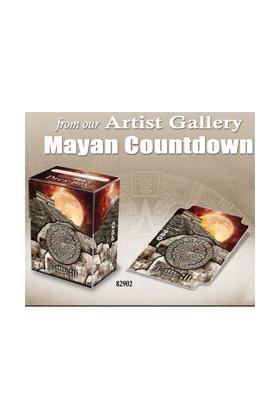 DECK BOX - MAYAN COUNTDOWN - MONTE MOORE