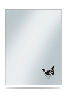 DECK PROTECTOR SLEEVE COVER (50) - GRUMPY CAT
