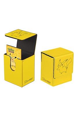 FLIP TOP DECK BOX - PIKACHU - TACTO PIEL
