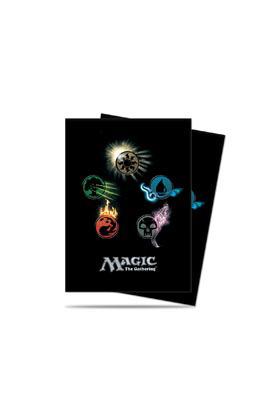 MAGIC EE SIDE LOADING DECK BOX MANA 4 PLANESWALKERS CON CONTADORES DE VIDA