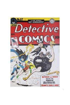 DETECTIVE COMICS COVER LIENZO 50x70x3 CM DC COMICS