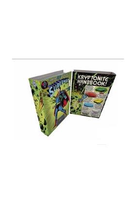 SUPERMAN LIBRO CAJA MADERA 25x17x4 DC COMICS