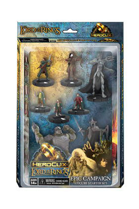 LORD OF THE RINGS HEROCLIX - STARTER 8 PACK