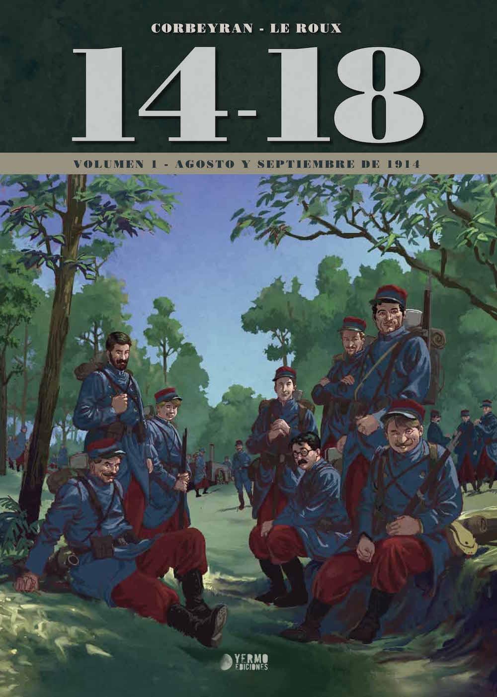 14-18 VOL. 1 (AGOSTO Y SEPTIEMBRE DE 1914)