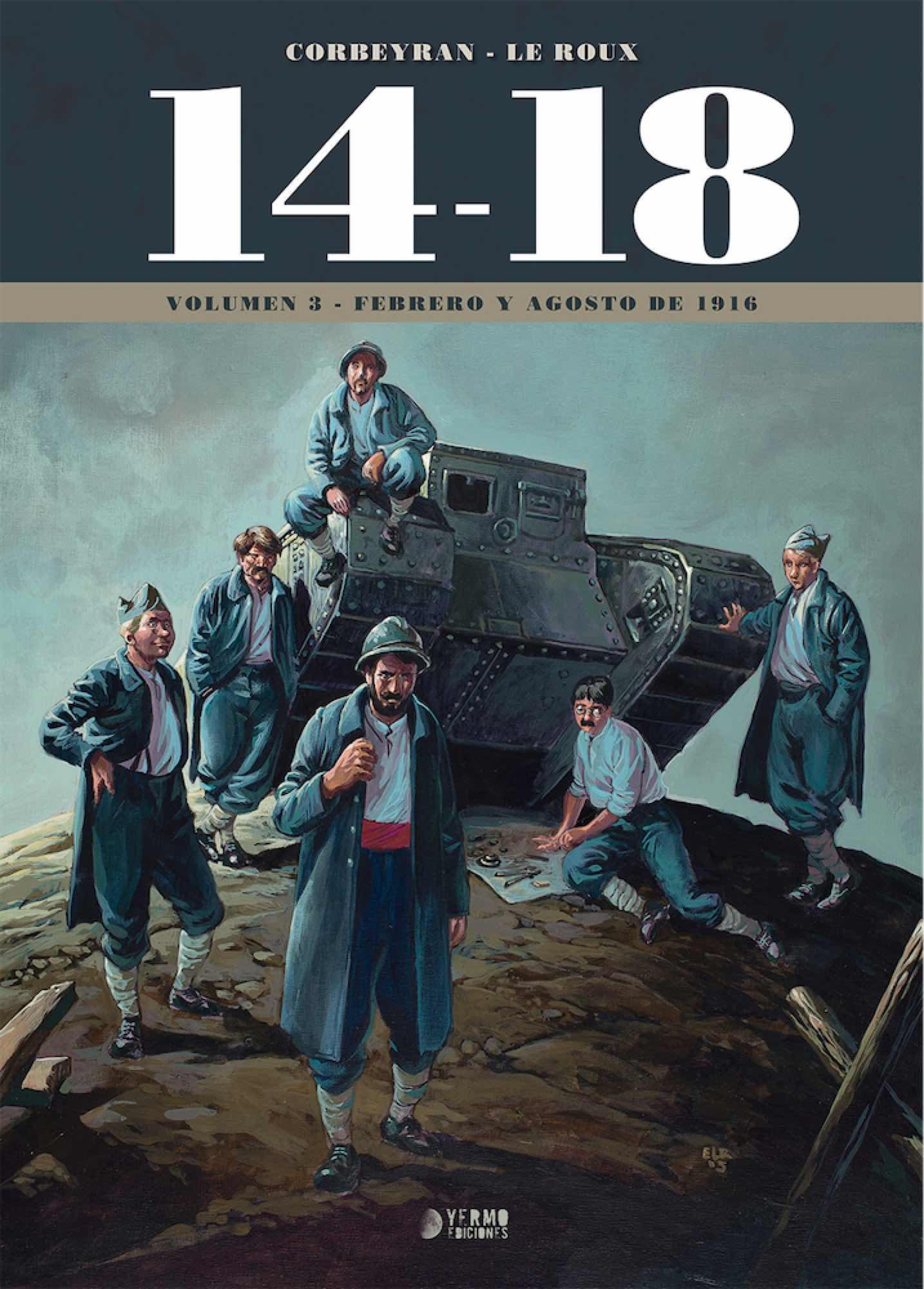 14-18 VOL. 3 (FEBRERO Y AGOSTO DE 1916)