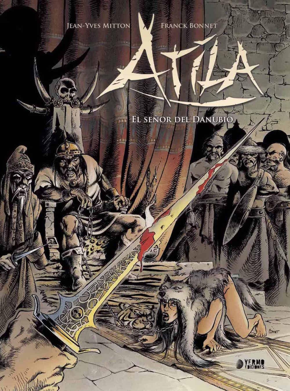 ATILA INTEGRAL 01. EL SEÑOR DEL DANUBIO