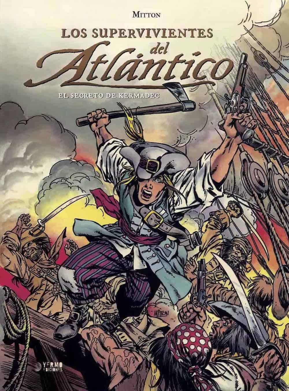 LOS SUPERVIVIENTES DEL ATLANTICO 01: EL SECRETO DE KERMADEC