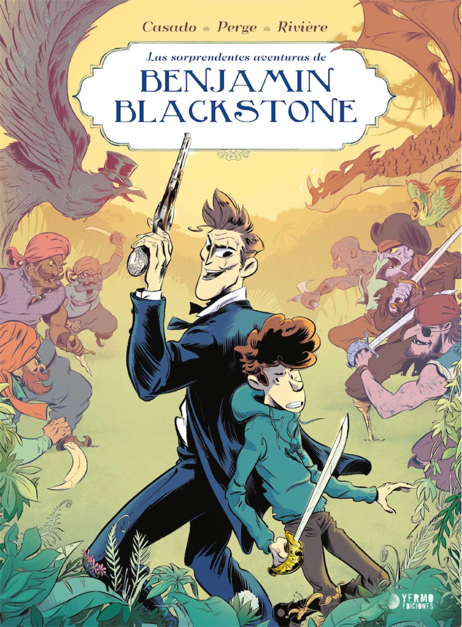 BENJAMIN BLACKSTONE 1