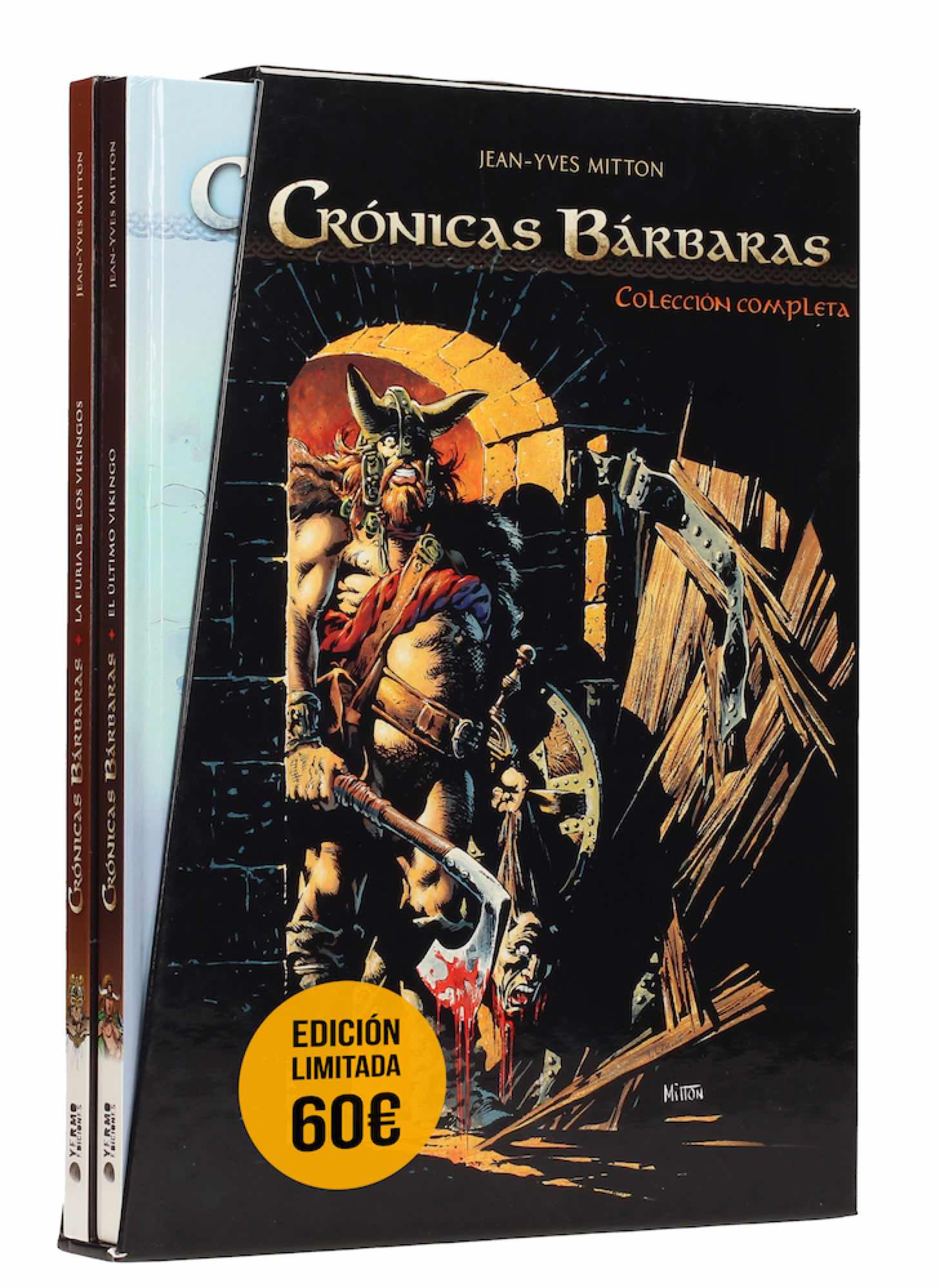 COFRE CRONICAS BARBARAS