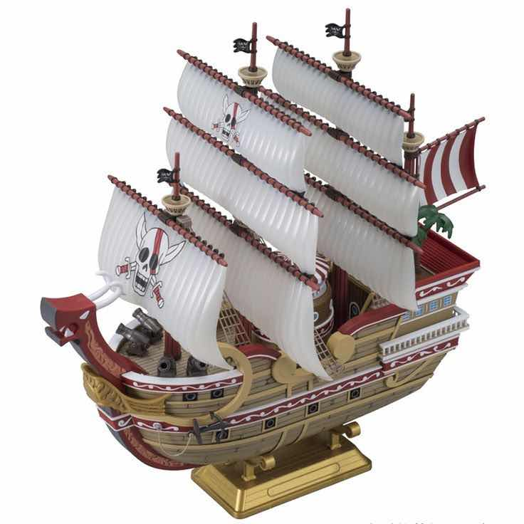 RED FORCE MODEL KIT FIGURA 30 CM ONE PIECE HI-END SHIPS