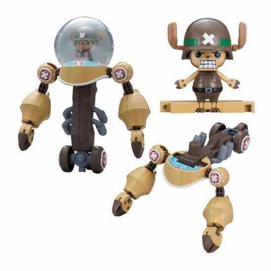 HEAVY ARMOR CHOPPER ROBO SUPER 2 MODEL KIT FIG 10 CM ONE PIECE CHOPPER ROBO SUPER SERIE