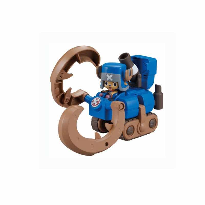 HORN DOZER CHOPPER ROBO SUPER 3 MODEL KIT FIG 10 CM ONE PIECE CHOPPER ROBO SUPER SERIE