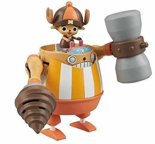 KUNG FU TRACER CHOPPER ROBO SUPER 4 MODEL KIT FIG 10 CM ONE PIECE CHOPPER ROBO SUPER SERIE