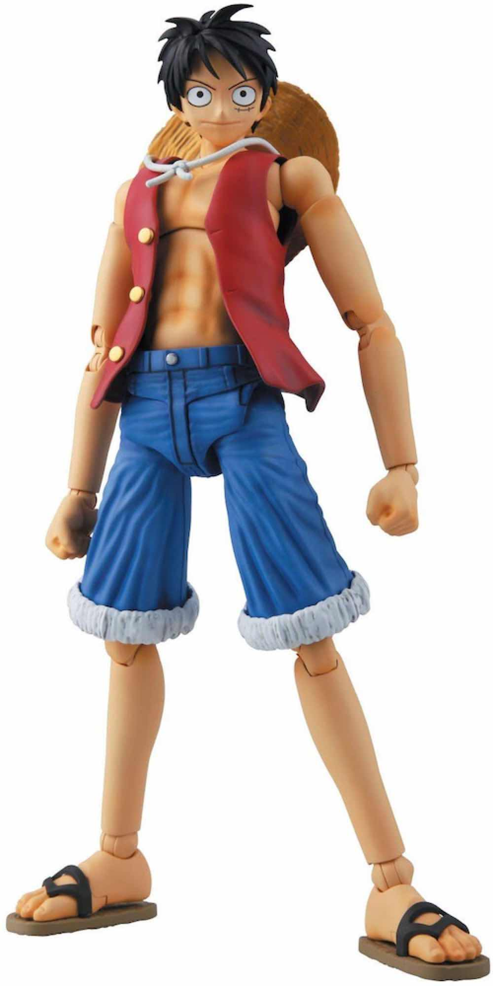 MONKEY D LUFFY MODEL KIT FIGURA 1/8 ONE PIECE MASTER GRADE FIGURE RISE
