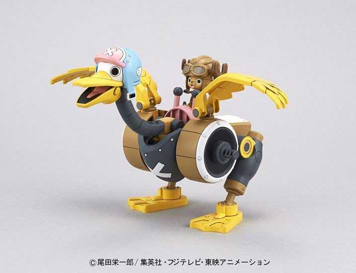 CHOPPER WING CHOPPER ROBOT 2 MODEL KIT FIGURA 10 CM ONE PIECE CHOPPER ROBO SERIES