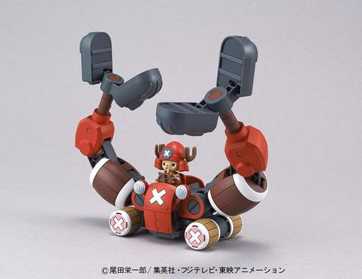 CHOPPER CRANE CHOPPER ROBOT 5 MODEL KIT FIGURA 10 CM ONE PIECE CHOPPER ROBO SERIES