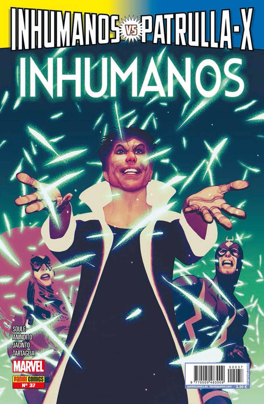 INHUMANOS 37