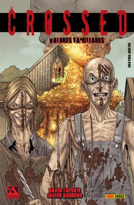 CROSSED 02. VALORES FAMILIARES (COMIC)