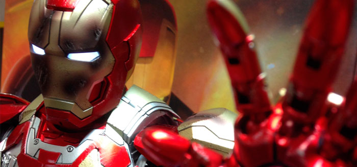 Iron Man MARK 42 Escala 1/4 de COMICAVE!
