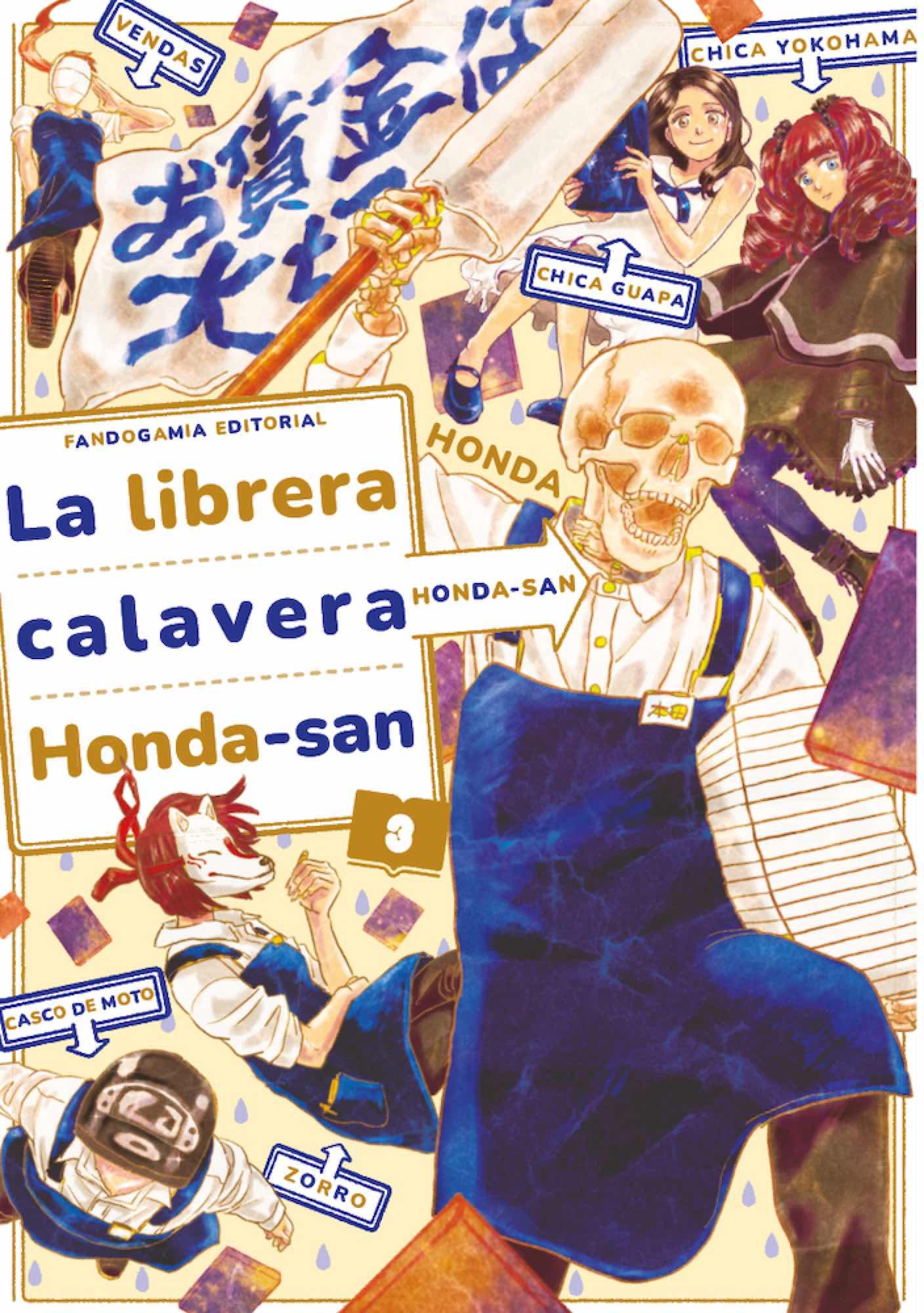 LA LIBRERA CALAVERA HONDA-SAN 03
