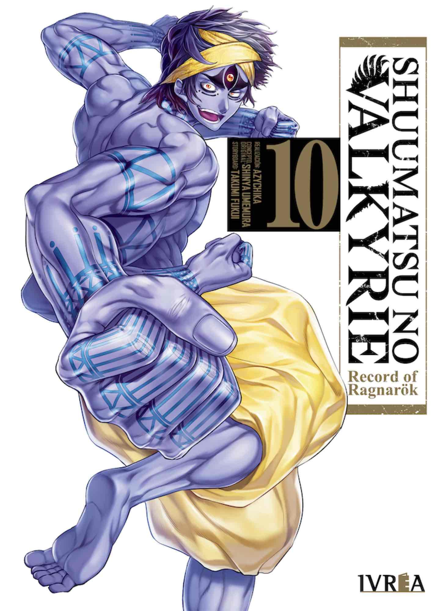 SHUUMATSU NO VALKYRIE. RECORD OF RAGNAROK 10