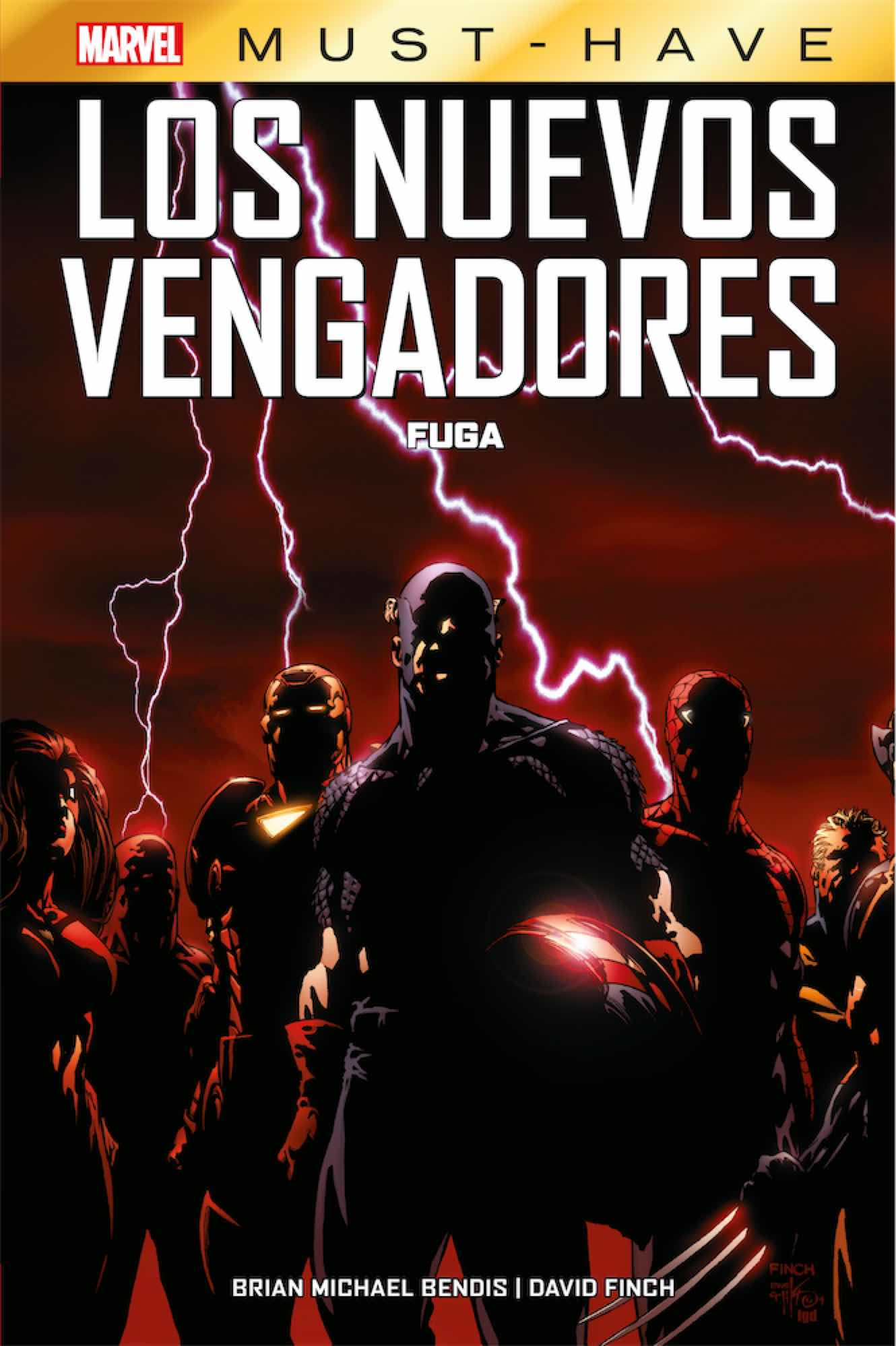 MARVEL MUST-HAVE. LOS NUEVOS VENGADORES 01. FUGA